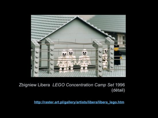 Fig. 15: Lachapelle, Louise. «Zbigniew Libera, LEGO Concentration Camp Set»