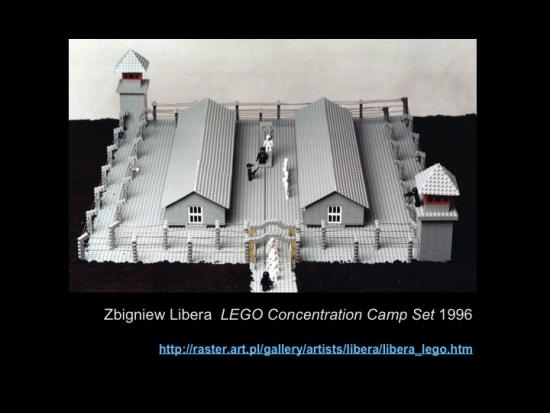 Fig. 16: Lachapelle, Louise. «Zbigniew Libera, LEGO Concentration Camp Set, 1996»