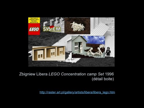 Fig. 17: Lachapelle, Louise. «Zbigniew Libera, LEGO Concentration Camp Set, 1996»