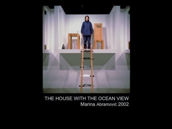 Fig. 30: Lachapelle, Louise. «The House with the Ocean View. Marina Abramović (2002)» [Capture d'écran]