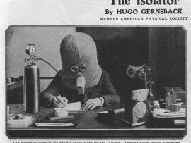 Revue «Science and Invention». 1925. «The Isolator»